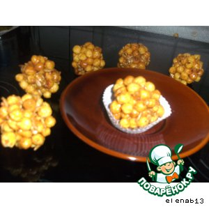 Рецепт: Карамельные шарики Pops