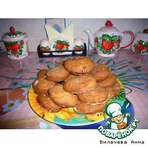 Рецепт: Медово-ореховое печенье