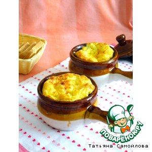 Рецепт: Сырная запеканка с кукурузой
