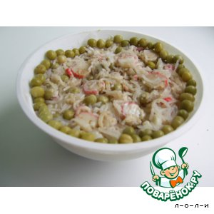 Рецепт: Салат острый по-китайски