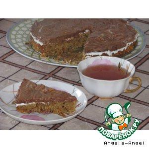 """Рецепт: Праздничный пирог а-ля """"Чизкейк"""""""