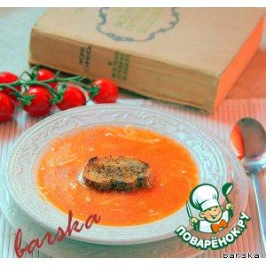 Рецепт: Томатный суп от мадам Мегре