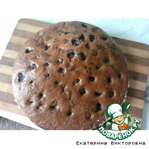 "Рецепт: Пирог ""Вишенка"""