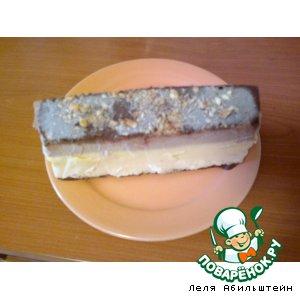 Рецепт: Мороженое-пирожное пятидесятых