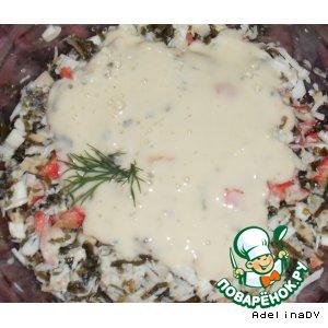 Рецепт: Соус из морепродуктов