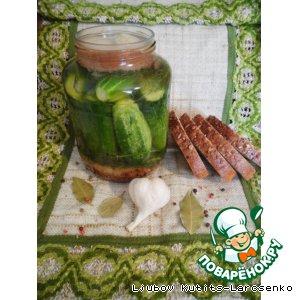 Рецепт: Малосольные огурцы по-венгерски