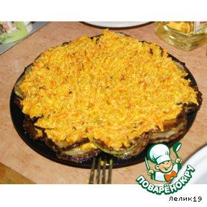 Рецепт: Острая закуска из кабачка