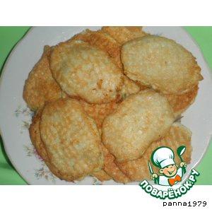 Рецепт: Закуска Вафельные блинчики