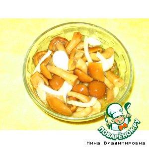 """Рецепт """"Быстрые"""" маринованные грибы"""