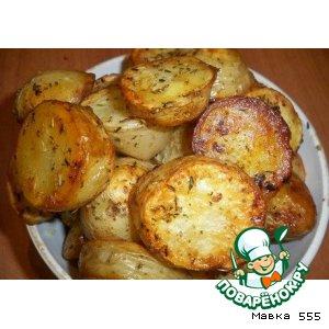 Рецепт: Молодой картофель с травами