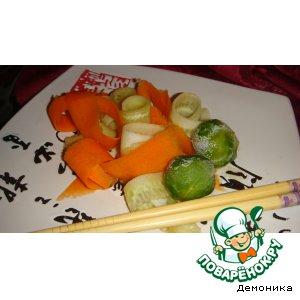 Рецепт: Восточная заправка-соус