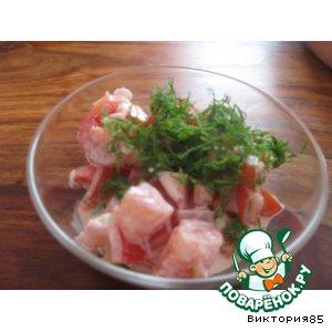 """Рецепт: """"Красный"""" салат"""