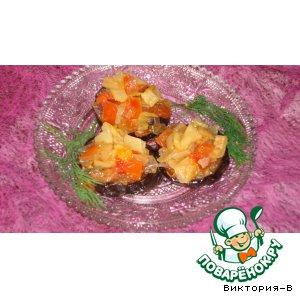 Рецепт: Меживо из баклажанов