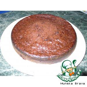 Рецепт: Кабачковый шоколадный пирог