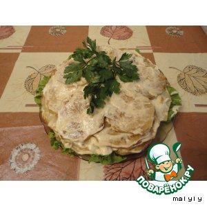 Рецепт: Закуска из кабачков