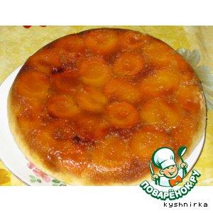 Рецепт: Абрикосовый пирог в Мультиварке