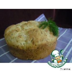 Рецепт: Огуречный хлеб с сыром