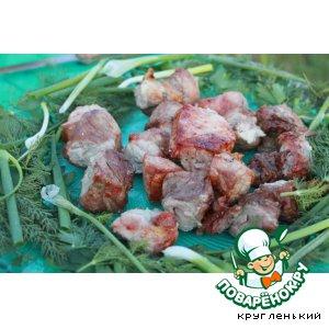 Рецепт: Свиной шашлык