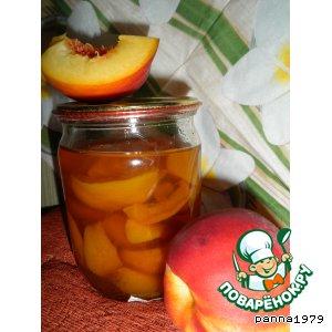 Рецепт: Персиковое варенье с коньяком