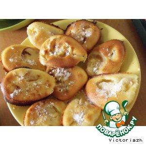 Рецепт: Персиковые мини-кексы