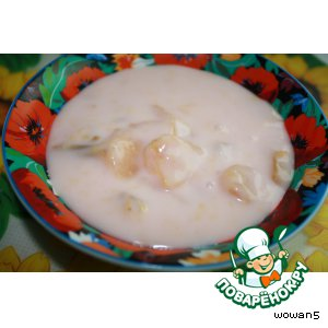 Рецепт: Фруктовый суп Хидег дюмельч лэвэш