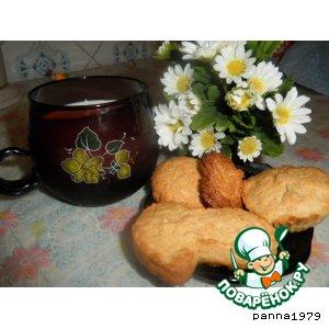 Рецепт: Кокосовое печенье Необычное