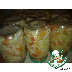Рецепт: Овощное ассорти в маринаде