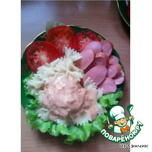 Рецепт: Соус томатно-сырный