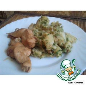 Рецепт: Вареный картофель с секретами приготовления