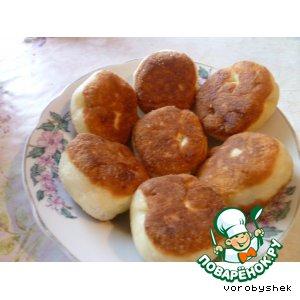 Рецепт Жареные пирожки с начинкой из яблок