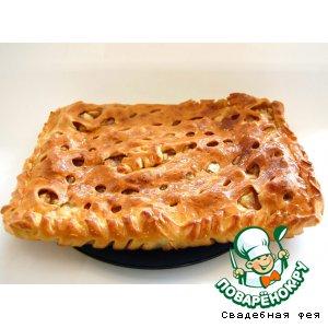 """Рецепт: Пирог """"Яблочный спас"""""""