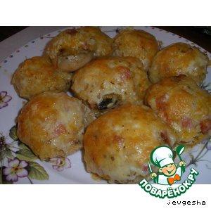 Рецепт: Сыроежки от Евгешки