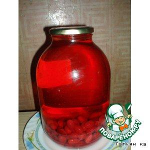 Рецепт: Кизиловый компот