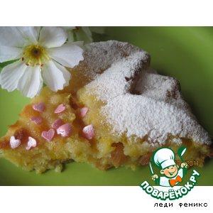 Рецепт: Английский кекс с изюмом и апельсином