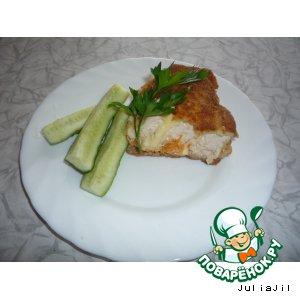Рецепт: Куриные рулеты с корейской морковкой