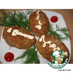Зразы из баклажанов – кулинарный рецепт