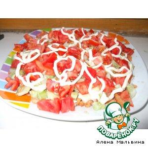 Рецепт: Салат вкусный