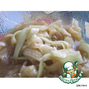 Рецепт: Кабачок по-китайски