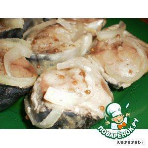 Рецепт: Маринованная рыба с кориандром
