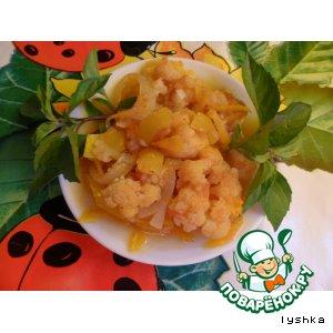Рецепт: Мировая закуска из цветной капусты