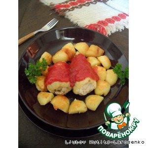 Рецепт: Фаршированные перцы по-венгерски