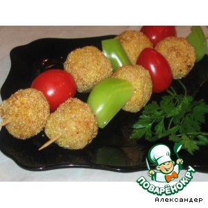 Рецепт: Куриные крокеты