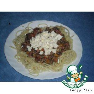 Рецепт Макароны с грибами и болгарским перцем