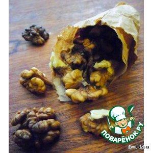 Рецепт: Грецкие орехи