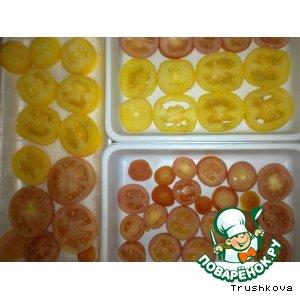 Рецепт: Замороженные помидоры