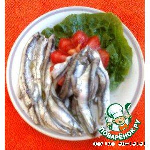 Рецепт: Маринованная рыба Гаврош