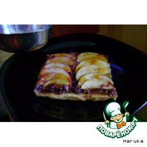 Рецепт: Пирог, опаленный пламенем