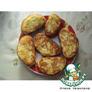 Рецепт: Бутерброды для любителей картофеля