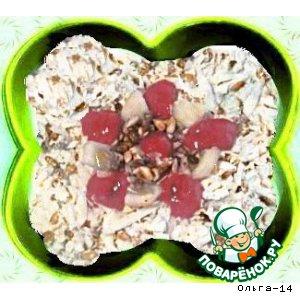 Рецепт: Салат из цветной капусты с семенами подсолнуха