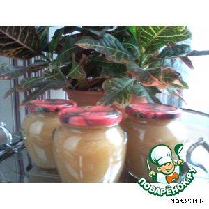 Рецепт: Яблочное пюре Из детства